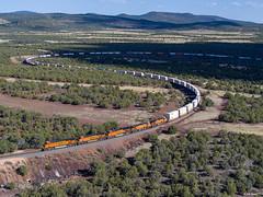 BNSF 7254 East at Daze, AZ (thechief500) Tags: bnsf phoenixsubdivision railroads arizona unitedstates us az