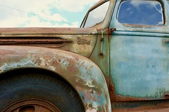 The ol' Ford Truck.  {EXPLORED: July 2, 2018} (tvdflickr) Tags: truck old rusty ford nikon df nikondf photobytomdriggers thomasdriggersphotography tvdimages explore explored flickr sigmaartlens sigma35mmf14art rust decay vintage classic