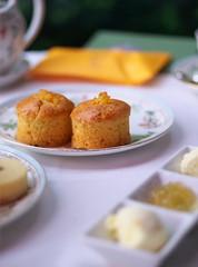 Afternoon Tea @ Hotel Chinzanso Tokyo (Long Sleeper) Tags: sweets dessert food hotel hotelchinzansotokyo afternoontea scone scones pastry jam clottedcream bokeh mejiro tokyo japan dmcgx1