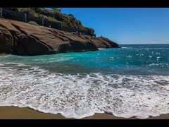 The beach (Stuart-Lee) Tags: espana spain tenerife costaadeje holiday beach waves canary islands