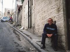 Streetportrait in Jerusalem (__sascha) Tags: geometry road streetportrait portrait palestinian israel jerusalem streetphotography street
