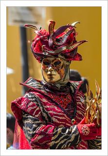 L'homme de feu (Parade Vénitienne 2018 de Riquewihr)