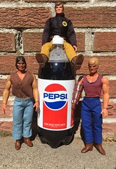 Big Jim P.A.C.K. Greetings from the Summer of 1976 (atjoe1972) Tags: mattel pepsi 1976 bigjim actionfigure 4th july summer 1970s seventies toys fourth vintage retro atjoe1972 pack wolf commander warpath torpedofist gold red white blue soda pop cola 2liter bottle boots jeans nativeamerican chieftankua eyepatch vest bionic