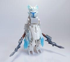 Councilor Iselia (Vorred) Tags: bionicle lego vorred moc mocs agori comic character ice elegy awakening
