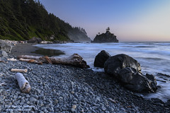 Hidden Beach Blue Hour (dtredinnick13) Tags: redwoodsnationalandstateparks nationalparks naturephotography shoreline pacific ca california klamath beach norcal npan nature landscape landscapephotography hiddenbeach hwy101 driftwood nikon nikond850 nikon2470