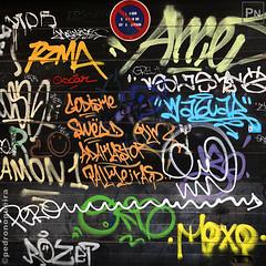 Garage door (Pedro Nogueira Photography) Tags: pedronogueira pedronogueiraphotography photography iphoneography iphonex graffiti urbanart urbandecay architecture