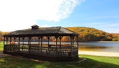 Greenbrier (Maryland DNR) Tags: greenbrier statepark gazebo lake fall autumn foliage washingtoncounty westernmaryland