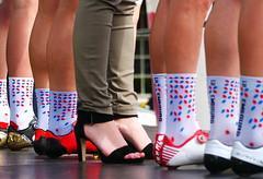 PreSenTaTioN. (WaRMoezenierr.) Tags: cycling zlm tour goes zeeland nederland pays bas holanda wilerkoers schoen zapata race feet voet pie zuid beveland sport wielrennen socks sokken ciclismo panasonic lumix