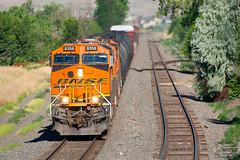 Slow Roll at Leyden (ColoradoRailfan) Tags: bnsf bnsfrailway upmoffattunnelsub moffattunnelsub es44c4 bnsf8356