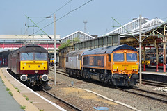 47804 47826 57304 66781 56069 57314 Crewe (British Rail 1980s and 1990s) Tags: train rail railway loco locomotive lmr londonmidlandregion mainline wcml westcoastmainline cheshire livery crewe liveried traction station diesel gbrf gbrailfreight europorte br britishrail type5 fertis 56 class56 0m70 56069 66 class66 66781 wcrc westcoastrailwaysco drs directrailservices vt vtwc virgintrainswestcoast thunderbird brush sulzer type4 0z29 47 57 class47 class57 47804 47826 57304 57314