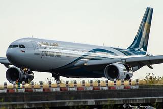 [CDG] Oman-Air Airbus A330-343 _ A4O-DI