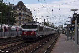 Intercités 3344 Caen - Paris St Lazare