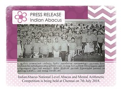 Press Release on Indian Abacus (Ind-Abacus) Tags: abacus mental mind math maths arithmetic division q new invention online learning basheer ahamed coaching indian buy tutorial national franchise master tutor how do teacher training game control kids competition course entrepreneur student indianabacuscom