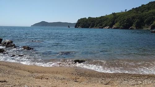 остров Лисий на горизонте