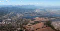 Salt Lake City, UT (zeesstof) Tags: zeesstof aerial aerialview viewfromwindow windowseat flight commercialflight saltlakecitytohouston united unitedairlines utah layton unitedstates usa mountains wasatchmountains