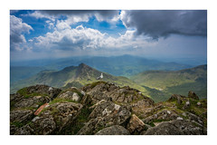 Roosting on Snowdon Mountain (Bob C Images) Tags: england wales mountains sky clouds birds seagull landscape sonya7rm2
