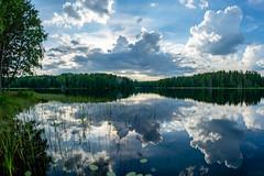 A Calm Lake (ristoranta) Tags: nikond7100samyang8mm heijastus lake evening lohja ilta pilvet kesä summer scenery pilvi cloud view järvi antiainen maisema kaupunki reflection taivaspilvet calm