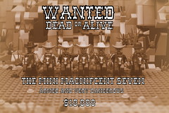 WANTED (MinifigNick) Tags: wanteddeadoralive cowboy afol lego minifignick minifigure