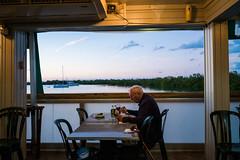 Key Biscayne, Miami, FL, USA. November 2017 (Victor M. Perez) Tags: 28mm leicam10 leica streetphotography boatersgrill dusk usa florida miami keybiscayne