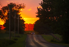 The Rearview (Matt Champlin) Tags: summer drive driving road sunset moving movingon carrieunderwood canon 2018 love life skaneateles home nature landscape truck