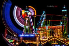 Kirmes (K&S-Fotografie) Tags: kirmes rhein düsseldorf nachtaufnahme langzeitbelichtung farben color