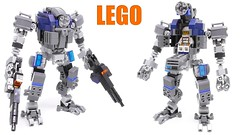 Thumbnails of videos posted on YouTube (Mishima Productions) Tags: lego mech mechsuit legomoc legomech legomecha mishima mishimaproductions レゴ レゴブロック レゴロボ thumbnail youtube