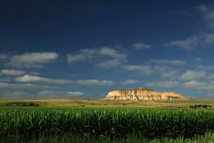 landscape (oldogs) Tags: corn cornfield nebraska sky sandstone bluff