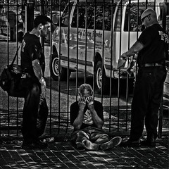 """No Person Can Tolerate Spiritual Indifference"", Martin Luther King Jr. Avenue, Historic Anacostia, Washington, DC (Gerald L. Campbell) Tags: streetphotography street squareformat spirituality spiritualindifference socialdocumentary alienation aloneness bw blackwhite blackmale citylife dc digital freedom historicanacostia indifference injustice inequality martinlutherkingjravenue portraitphotography portrait urbanphotography urban unitedstates washingtondc yearning yeswecan canonsx60hs"