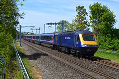 43028 at Alderton on 17th May 18' (LusitaniaD225) Tags: 43028 alderton hst 1l54 gwml gwmlelectrification electrificationmasts aonb