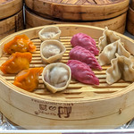 Dim sum with pheasant, beef and chicken thumbnail