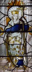 Saint Margaret of Antioch (Lawrence OP) Tags: margaret saints margaretofantioch dragon satan martyr virgin stainedglass soho london stpatricks