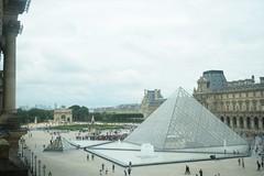 DSC_0212 (KYLee96) Tags: parisian paris france europe european eu museum tourist spot palace landmark king royal family exhibition louvre muséedulouvre musée glass transparent pyramid monument art architecture
