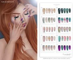 Mermaid Cove | July 23rd (Kah Melody | ASCENDANT) Tags: mermaid cove ascendant bento nails
