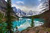 Moraine Lake (markwhitt) Tags: markwhitt markwhittphotography canada banff banffnationalpark morainelake landscape scenic scenery nature vacation outdoors view mountains lake trees clouds dramatic reflections nikon