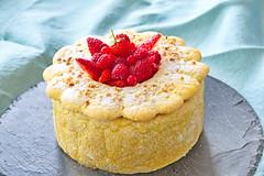 Charlotte aux fraises (fakir50) Tags: cuisine patisserie