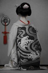 京舞 (小川 Ogawasan) Tags: japan japon kyoto dance maiko giappone geiko tradition kanzashi hair makeup lips lady women kimono human gion