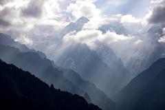 Bhutan: Mystery Peaks of Gasa II. (icarium.imagery) Tags: bhutan canoneos5dmarkiv captureone clouds drukyul dramaticsky gasavalley himalayas hills layers mountainrange mist sunrays mountains mysterious mystical nature peaks sigma sigma100400mmf563dgoshsm sunburst