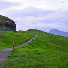 Gjógv (mikael_on_flickr) Tags: gjógv føroyar færøerne faroeislands isolefaroe green grøn grün grön vert verde aften abend evening sera landscape landskab paesaggio