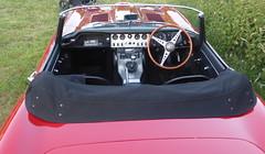 Jaguar E-Type (1962) (andreboeni) Tags: classic car automobile cars automobiles voitures autos automobili classique voiture rétro retro auto oldtimer klassik classica classico jaguar etype xke roadster 38 38litre series1 sports dashboard fascia interior cockpit