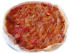 Tarte oignons/tomates (eva Landes) Tags: yummy tartes oignons vegetables