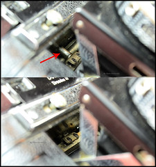 Certo Dollina II Repair Notes (11) (Hans Kerensky) Tags: certo dollina ii rangefinder folder repair focus axis strut