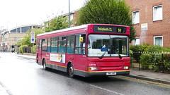 Still Surviving (londonbusexplorer) Tags: goahead london dennis dart slf plaxton pointer ldp194 sn51uag b11 thamesmead bexleyheath bus garage tfl buses