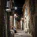 Italian street by night