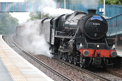 DALGETY BAY 44871 (johnwebb292) Tags: steam black5 lms 5mt 44871 dalgetybay srps wcr fifecircle