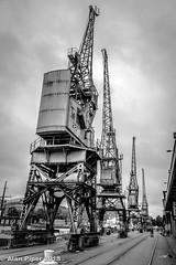 Cranes, Princes Quay, Bristol Harbour (PapaPiper) Tags: bristolharbour bristol princesquay cranes england uk unitedkingdom docks waterfront design heritage historic relic postindustriallandscape