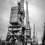 Cranes, Princes Quay, Bristol Harbour thumbnail