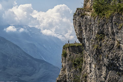 Everything for a good picture (mystero233) Tags: hike cycle clouds hill cliff mountain mountains italy dolomite rock travel europe lagodigarda lago lake garda belvedere alps landscape view photographer summer 2018