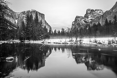Black & White Yosemite Fine Art Photography! Yosemite National Park Winter Snow Landscape! Valley View Merced River El Capitan! Sony A7R II Mirrorless & Carl Zeiss Vario-Tessar T* FE 16-35mm F4 ZA OSS Lens SEL1635Z! Scenic Yosemite California Sunset Dusk (45SURF Hero's Odyssey Mythology Landscapes & Godde) Tags: black white yosemite fine art photography national park winter snow landscape valley view merced river el capitan sony a7r ii mirrorless carl zeiss variotessar t fe 1635mm f4 za oss lens sel1635z scenic california sunset dusk