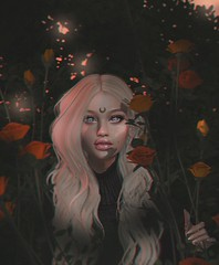 p o i s o n ([ witchcrafts ]) Tags: sl second life secondlife doux ison roses keke buzzeri botanical catwa catya maitreya suicidal unborn glam affair mesh bento rose autumn