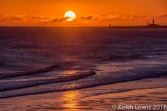 Sandsend Sunrise (keithhull) Tags: northsea sunrise sandsend whitby northyorkshire 2015